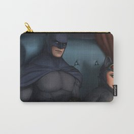 Bat Man Naughty Cat Women Carry-All Pouch