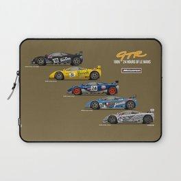 The McLaren 5 - 1995 Le Mans Winner + 4 Finishers Laptop Sleeve