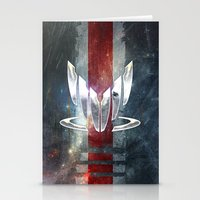 n7 Stationery Cards featuring N7 Spectre by Toronto Sol