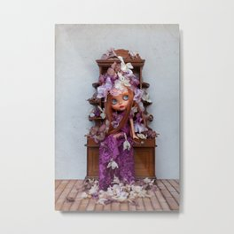 DEAD FLOWERS by Erregiro dolls Metal Print