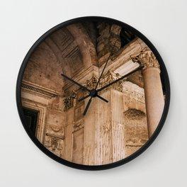 Pantheon V Wall Clock