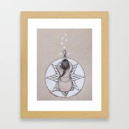 Women's Ceremony Framed Art Print