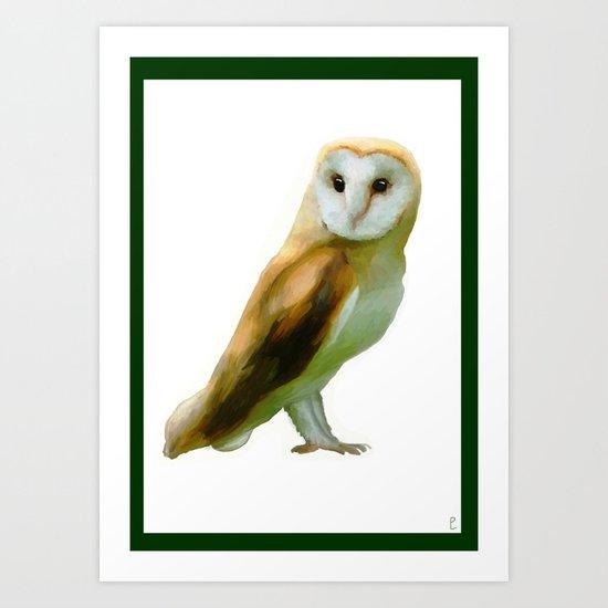 The Barn Owl Art Print