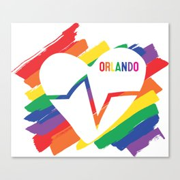 Orlando Pulse Canvas Print