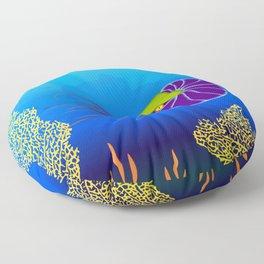 Paper Craft Nautilus Floor Pillow