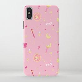 Sailor Moon Pattern iPhone Case