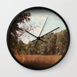 The Flield Of Memories Wall Clock