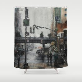 The Highline Shower Curtain