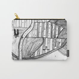 Farmland Drawing Carry-All Pouch