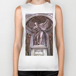 Veil, Vatican City Biker Tank
