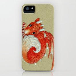 Baby Red Dragon iPhone Case