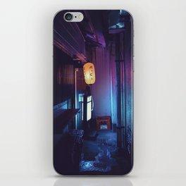 Tokyo Nights / Lonely Lantern / Liam Wong iPhone Skin