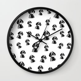 CHRISTMAS GIFTS FOR THE GERMAN POINTER SHORTHAIRED DOG LOVER,GIFTS FROM MONOFACES FOR ALL IN 2020 Wall Clock