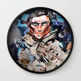 Gash Prince - Magazine Collage Wall Clock