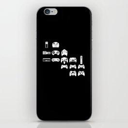 History of gaming iPhone Skin