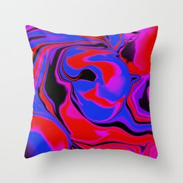dreamland color flow Throw Pillow
