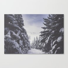 It's gonna clear up Canvas Print