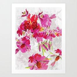 Botanical Morphology #1.2 Art Print