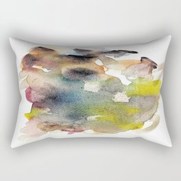 Watercolor multicolor 22 Rectangular Pillow