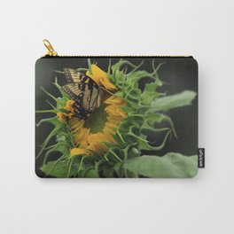 Male Swallowtail on Sunflower Carry-All Pouch