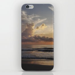 Sunrise over Water iPhone Skin
