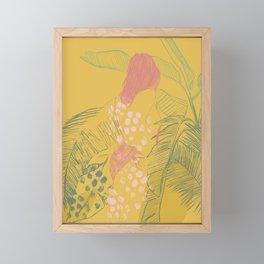 Sun Bather Framed Mini Art Print