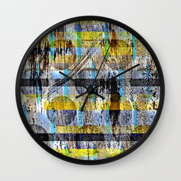 ABSTRACT/LIPSTICK ON A PIG Wall Clock