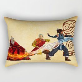 Avatar Elements Rectangular Pillow
