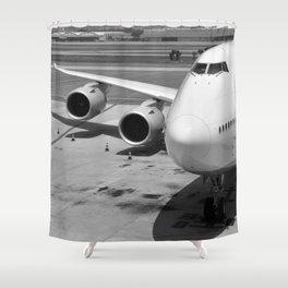 Aircraft Shower Curtains