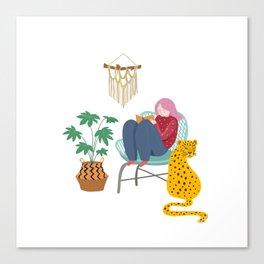 My comfort zone Canvas Print