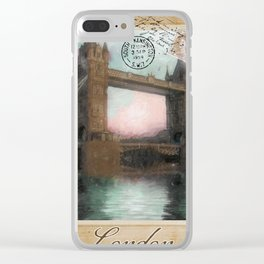 European Vacation London Clear iPhone Case