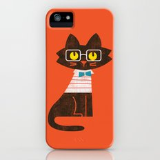 Fitz - Preppy cat Slim Case iPhone (5, 5s)