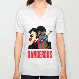 Dangerous Crooks Unisex V-Neck