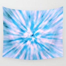TIE DYE - LIGHT BLUE Wall Tapestry