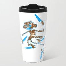 kitchen monkey Metal Travel Mug