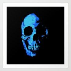 Fade into Darkness Art Print