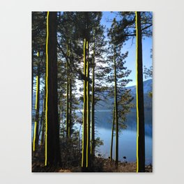 Golden Forest Canvas Print