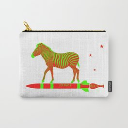 Zebra Rock It 12A Carry-All Pouch