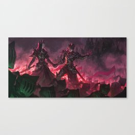 The Witch Queens of Agmathaar Canvas Print