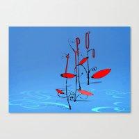 typo Canvas Prints featuring typo... by matzenbacher