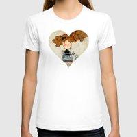 alice wonderland T-shirts featuring Alice in Wonderland by Kristina Sabaite