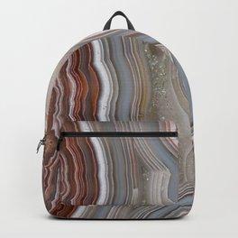 Striped Agate Crystal Backpack