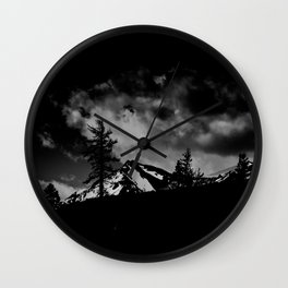 CHILL IN THE DARKNESS Wall Clock