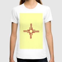 Flag of new mexico hand drawn 1 T-shirt