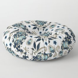 Paisley obsessions I Floor Pillow