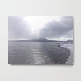 Volcano in Hokkaido Metal Print