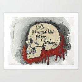Everlong Art Print