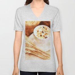Cereal Food Unisex V-Neck