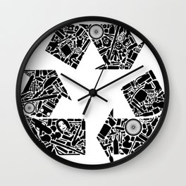 Recycling is Cool Wall Clock