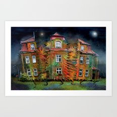 Das lebende Haus  Art Print